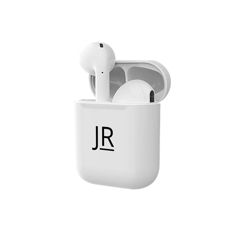 Picture of Personalised Smart Earbuds - White/Black