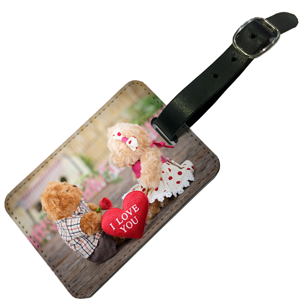 Picture of Double-Sided Personalised Luggage Tag NUX